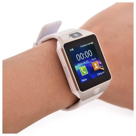 ... Erenbach Smartwatch DZ09 white - rozbaleno fc8b4dfb569